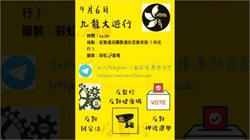 立法會選舉延後一年 港人發起九龍大遊行