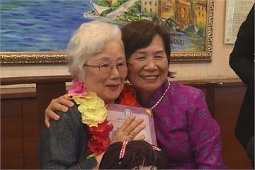 遺憾沒畢業就離台 日籍奶奶睽違半世紀重回雄女