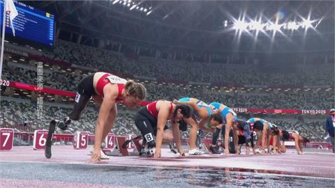 帕運田徑場上最後一天 選手冒雨破世界紀錄