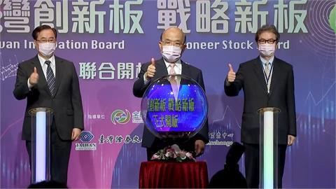 打造台灣那斯達克 新創板.戰略新板雙雙啟動