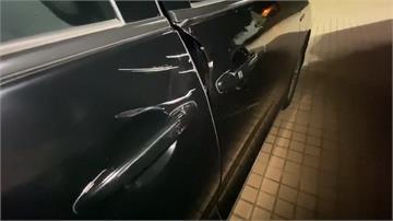 陳家欽南下坐鎮臨檢勤務 座車擦撞意外