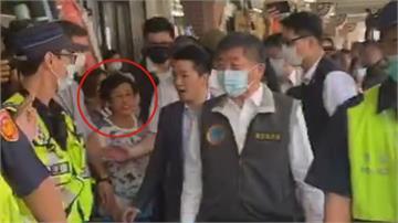 迪化街粗口嗆陳時中 民眾遭起底「國民黨代表」
