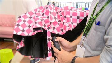 雨天也能很時尚「鑽石透明傘」絢麗閃耀