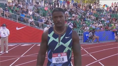 39歲前奧運金牌加特林 無緣東奧百米資格落淚