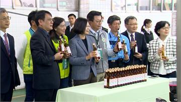 產量夠!台酒2月預計生產456萬瓶75%酒精 蔡英文籲民眾別囤貨