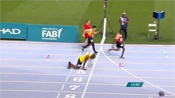 「爬跑」50公尺奪特奧銀牌 牙買加閃電嘆服
