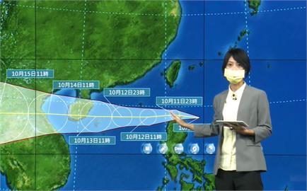 快新聞/蘭嶼颳16級強陣風! 輕颱圓規入夜通過台灣南方海面「風雨越晚越明顯」