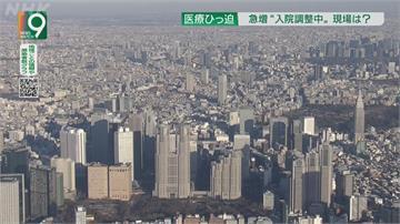 東京醫療資源分配陷困境 逾7700染疫者無法決定收治去處