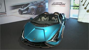 藍寶堅尼新油電跑車 售價破8000萬 全球19輛全賣光