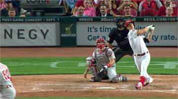 MLB/紅人二刀流羅倫森 九下代打竟敲再見勝利