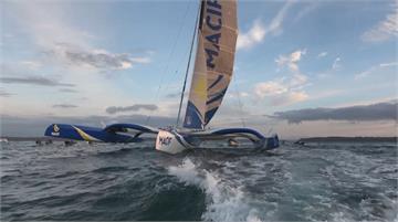 保持社交距離一人運動 海上風帆兼賞美景