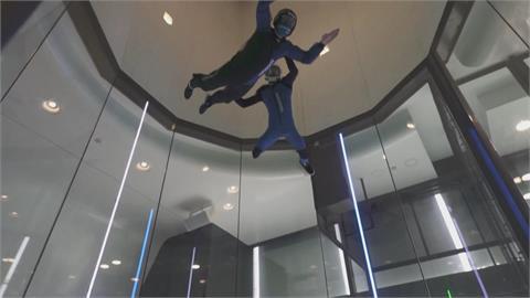 風洞中室內跳傘 視障者體驗自由飛翔 西班牙巴塞隆納