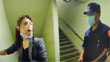 女醉倒捷運自稱中國人 男友瞎挺控警傷人