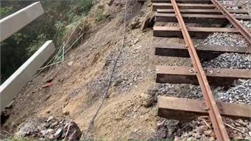 太平山「蹦蹦車」軌道土石崩 停駛到明年5月
