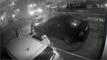 惡劣!駕駛撞飛晨運婦人 還躲回家裝沒事