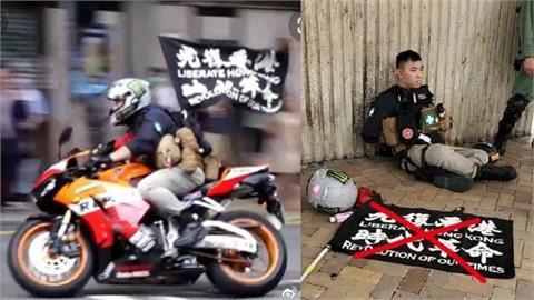 國安法首案判刑!港男騎車插旗「光復香港、時代革命」竟判囚9年