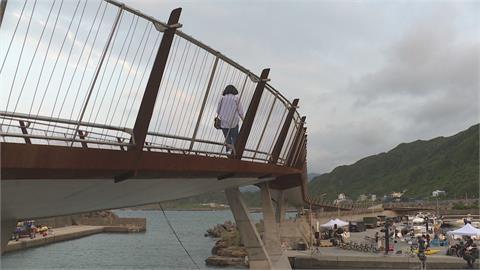 基隆「望海巷跨海景觀橋」 騎鐵馬賞無敵海景
