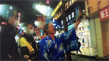 日本男子西門街頭賣藝 無照被勸離怒飆髒話