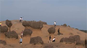 武漢肺炎衝擊 野柳公園遊客只剩15%恐關園