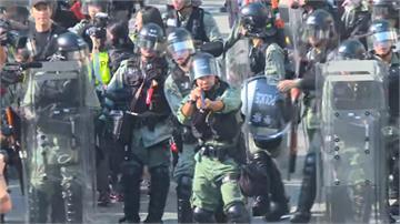 反送中/民眾屯門遊行爆衝突 港警發射催淚彈