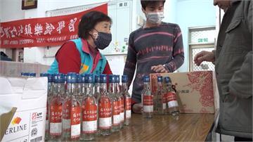 金酒投入酒精生產線 十萬瓶供金門鄉親