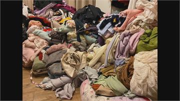 驚!床上衣服堆成山 枕頭發霉泛黃租屋處曝光網哀嚎 高嘉瑜:我每天都很忙