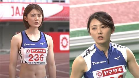 沒比奧運也紅!日跳遠正妹「俏麗短髮+腹肌」網全戀愛:這是日劇吧