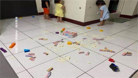 全台停課延至6/14 爸媽崩潰分享「小孩罰站照」
