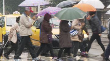 快新聞/鋒面逼近台灣! 中部以北愈晚降雨越明顯