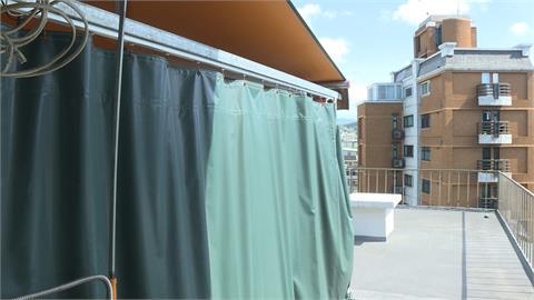 大安區套房月租1萬2 走進廁所沒牆壁 這也太通風了吧! 民眾驚呆了