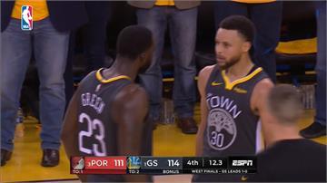 NBA/勇士第四節逆轉勝拓荒者 西區決賽2比0