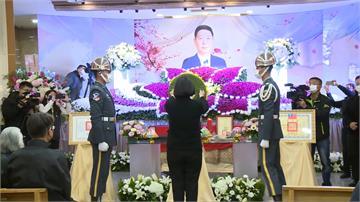 古寧頭英雄熊震球公祭 蔡總統親頒褒揚令