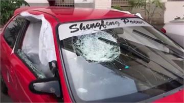 才剛被砸店毀車 派遣公司老闆又遭開槍中彈