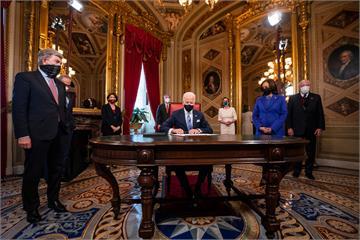 入主白宮 拜登任美國總統