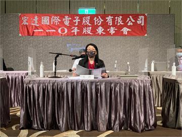 快新聞/宏達電股東會召開 王雪紅:疫情成為加速數位革命的催化劑