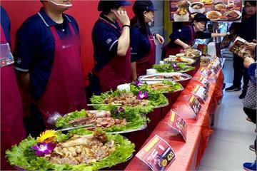 不上館子也能吃手路菜 6-8人年菜套餐受歡迎