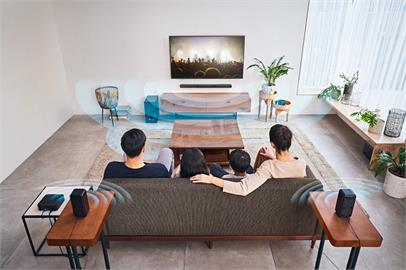 3C/Sony HT-S40R 超值家庭劇院組 無線連結 輕盈簡約升級5.1 聲道居家視聽享受