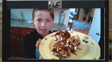 12歲小廚神 隔離食譜和網友分享美食