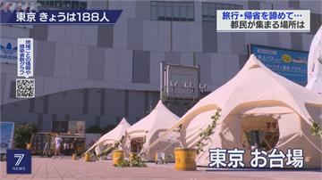 日本民眾暫緩返鄉 東京「偽旅遊」商機夯