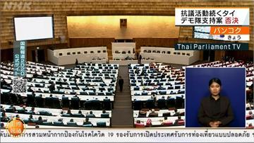 泰國示威不斷 緊急狀態延至明年1月15日