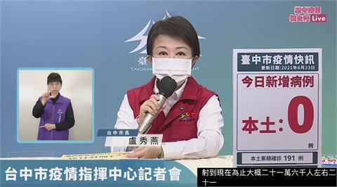 快新聞/三級警戒延至7/12 盧秀燕:支持「全國一致」