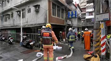 快新聞/板橋旅館清晨傳火警「冒濃濃黑煙」 警消緊急疏散11名住客