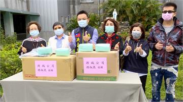 憂長照防疫物資不足 台商捐贈1千片口罩