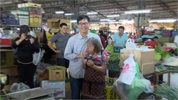 阿嬤是忠實邁粉!陳其邁大社果菜市場尋人任務有洋蔥
