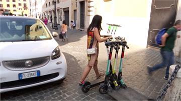 「疫」外之亂!羅馬電動滑版車正夯 街頭違停亂象不斷!