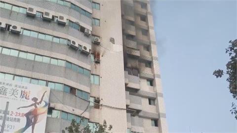 商業大樓KTV發生火警 幸無人傷亡 疫情期間沒營業 業者無奈
