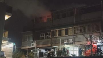 苗栗三山國王廟後民宅昨晚大火 延燒隔壁透天