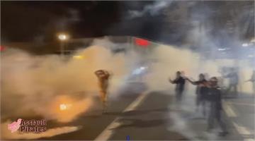 不滿拜登就職 反對人士與警爆衝突
