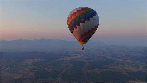 義大利推空中旅遊 搭熱氣球、升機高空攬客