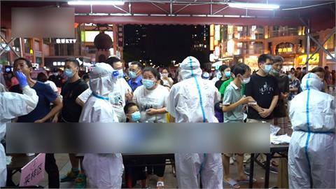 印度變種病毒傳播力強 中國廣州荔灣區「半封城」